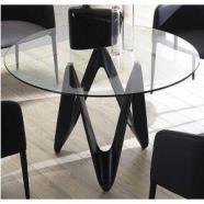 2 Mesas vidrio de comedor de segunda mano - eAnuncios.com