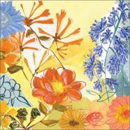 laminas de flores modernas summer sun ii