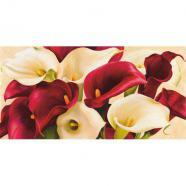 laminas para cuadros de flores modernos calla composition