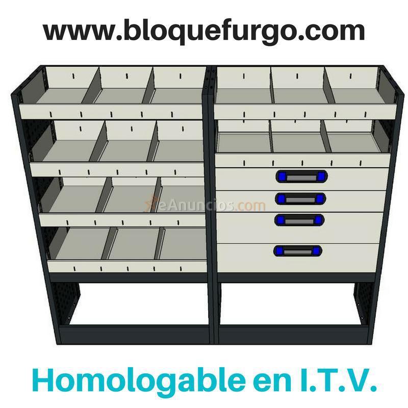 Estanterias y muebles para furgonetas taller 1655067 for Muebles para furgonetas